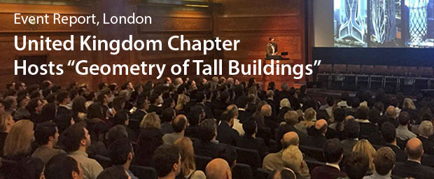 CTBUH UK Chapter Hosts: Geometry of Tall Buildings