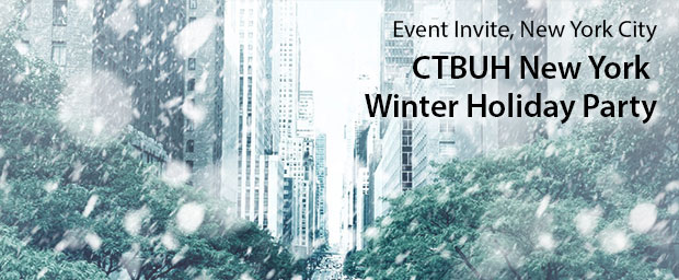 CTBUH New York Chapter Presents Winter Holiday Party