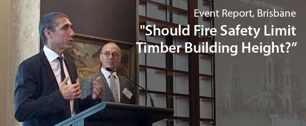 Should Fire Safety Limit Timber Building Height?