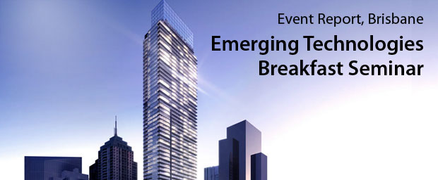 Emerging Technologies Breakfast Seminar