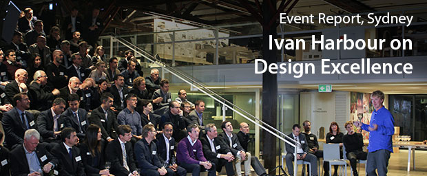 Ivan Harbour on Design Excellence