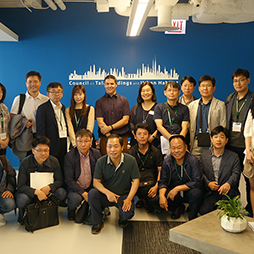 Seoul Government Officials Visit CTBUH Headquarters